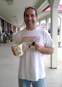 Pete Barranti finished 2nd - Grand Masters