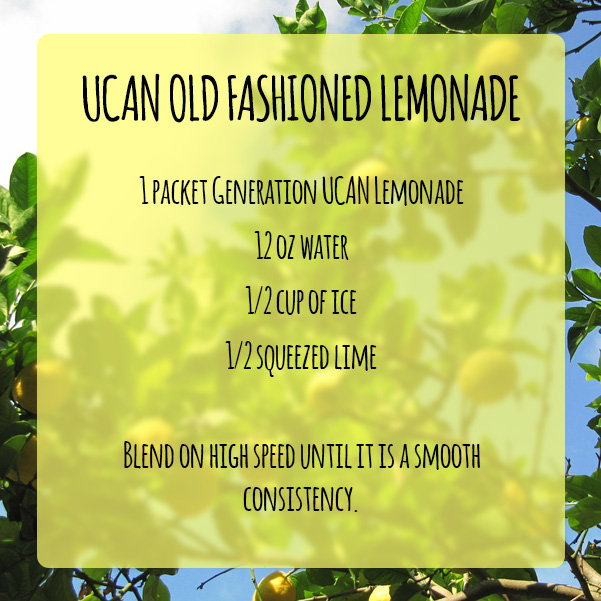 UCAN Old Fashioned Lemonade