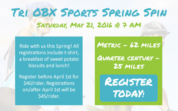 Tri OBX Sports Spring Spin